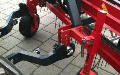 2 Stützräder mit Pendelaufhängung